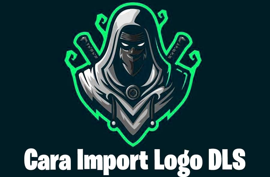 cara import logo dream league soccer